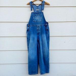 Vintage London Jeans Blue Denim Jean Overalls